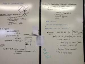 Wellness Challenge Week One Whiteboard